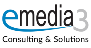emedia3 GmbH Consulting & Solutions: Logo